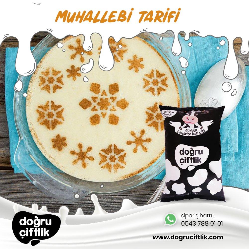 Muhallebi Tarifi